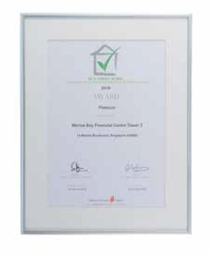 Sustainability award Singapore